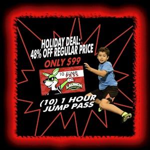 Holiday 10 Jump Pass Deal