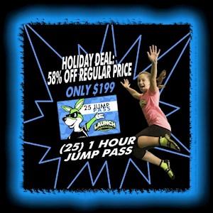 Holiday 25 Jump Pass Deal