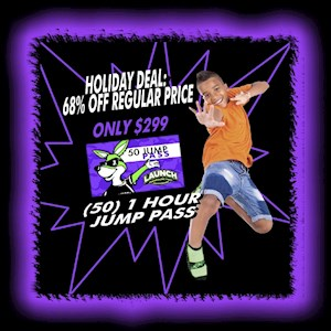 Holiday 50 Jump Pass Deal