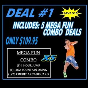 Deal #1 5 Mega Combo Pass