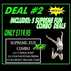 Deal #2 5 Supreme Combo Pass