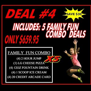 Deal #4 5 Family Combo Pass
