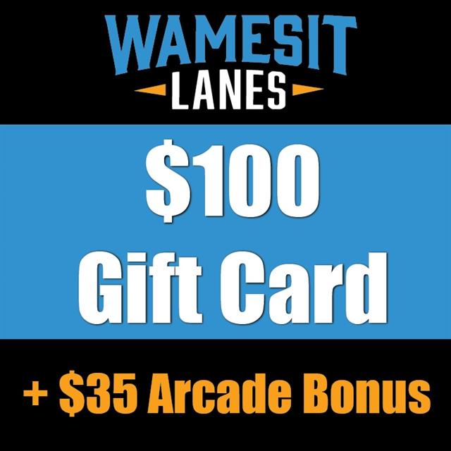 $100 Gift Card +$35 Arcade Bonus