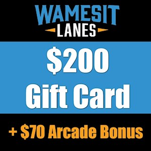 $200 Gift Card +$35 Arcade Bonus