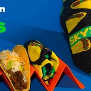 Taco Sky Socks