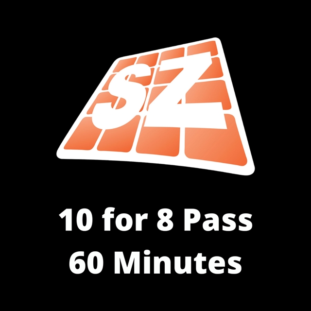 10 For 8 Pass - 60 Min