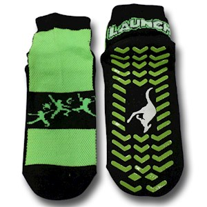 Ankle Grip Socks- Youth L