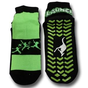 Ankle Grip Socks- Adult X-Lg