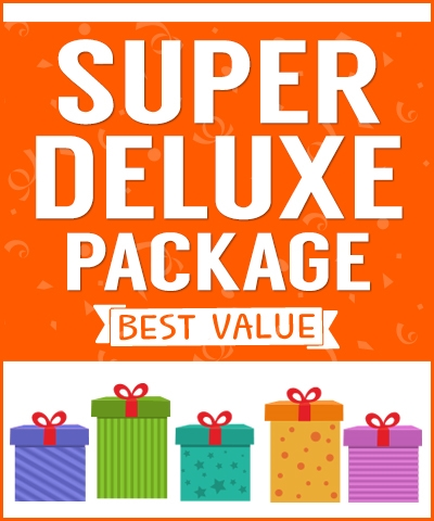 *Super Deluxe Party Package