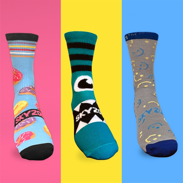 Elite Sky Socks - ALL SIZES