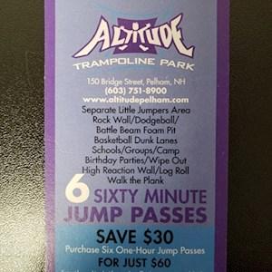 Frequent Jumper 6 Pass