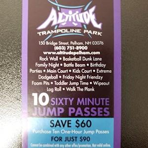 Frequent Jumper 10 Pass