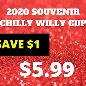 2020 Chilly Willy Souvenir Cup