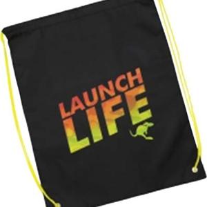 Cinch Bag Green