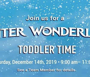 Winter Wonderland Toddler Time