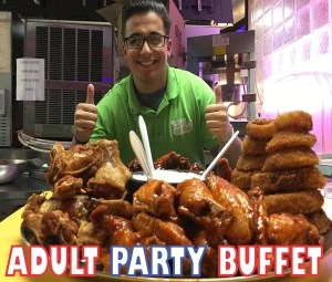 Adult Party Buffet Package