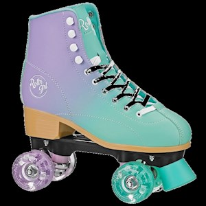 RollerGirl Lilly Mint & Purple