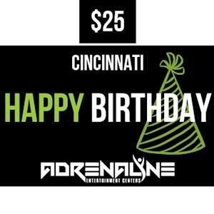 $25 Birthday Gift Card