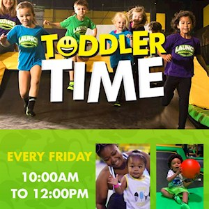 5 Session Toddler Time Pass
