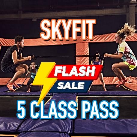SkyFit 5 Class Pass Flash Sale