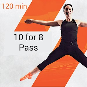 10-for-8 Pass - 120min