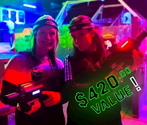 Mission-Based Laser Tag Party