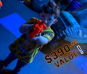 NERF-Style Tag Party Package