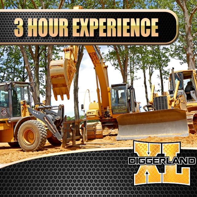 Diggerland XL 3 Hr Experience