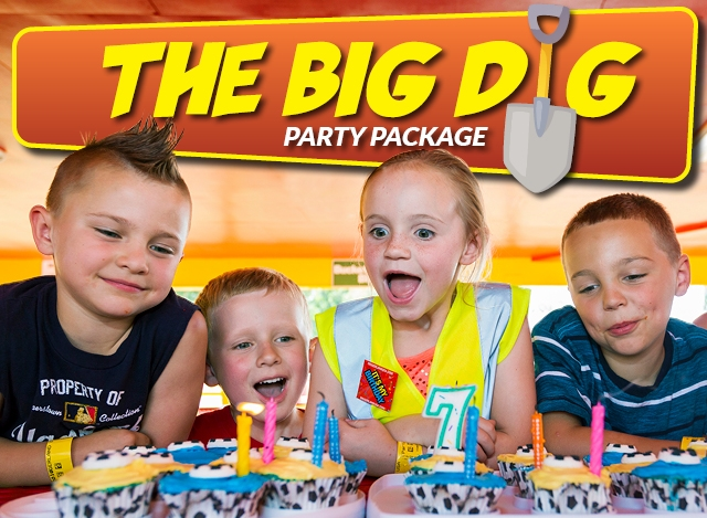 The EASY DIG Party Package