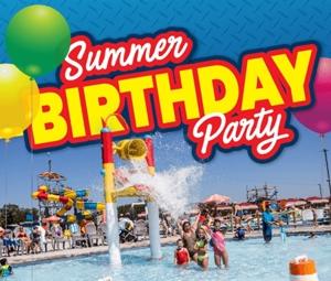 SPLASH N DIG Party Package