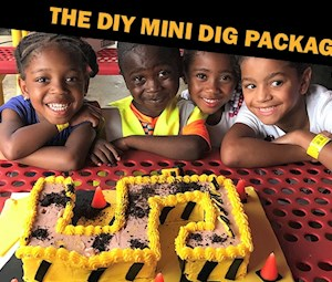 The DIY Mini Dig Party