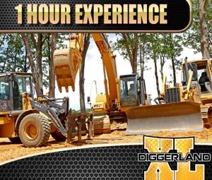 Diggerland XL 1 Hr Experience