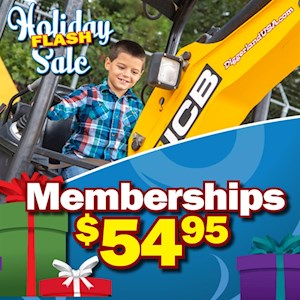 ANNUAL MEMBERSHIP HOLIDAY SALE