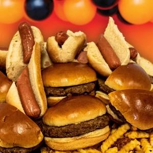 Hot Dog & Hamburger Platter