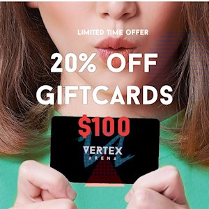 $100 Gift Card- 20% off