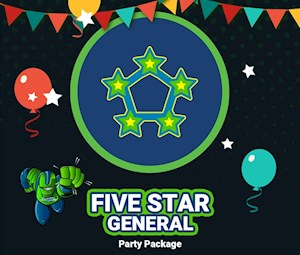 5 Star General Party Package