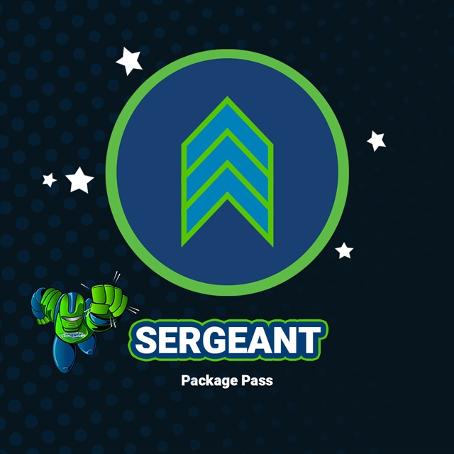 Sergeant Package Pass