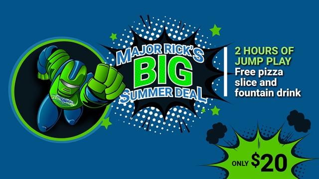 Major Rick's Big Summer Deal