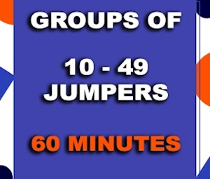 Group 60 min (10-49 Jumpers)