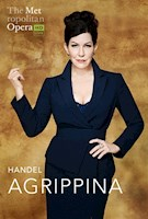 """In the Met's first-ever performances of Agrippina, Handel's satire of sex and power politics, Sir David McVicar reconceives a production he originally created for the Monnaie in Brussels in 2000, evoking a scandalous world in which the Roman Empire never fell but simply kept going right up to the present. Holding a distorted mirror to contemporary society (as Handel did when he staged this opera), the production presents the corrupt intrigues of the political classes, brought to life by Joyce DiDonato as the power-hungry empress Agrippina, Brenda Rae Handel's tale of intrigue and impropriety in ancient Rome arrives in cinemas on February 29, with star mezzo-soprano Joyce DiDonato as the controlling, power-hungry Agrippina and Harry Bicket conducting. Sir David McVicar's production ingeniously reframes the action of this black comedy about the abuse of power to """"the present,"""" where it should loudly resonate. The all-star cast features mezzo-soprano Kate Lindsey as Agrippina's son and future emperor Nerone, soprano Brenda Rae as the seductive Poppea, countertenor Iestyn Davies as the ambitious officer Ottone, and bass Matthew Rose as the weary emperor Claudius. 