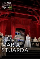 Soprano Diana Damrau, following her triumph as Violetta in last season's new production of Verdi's La Traviata, returns to cinemas on May 9 as the martyred Mary, Queen of Scots, in Donizetti's bel canto showcase. Star mezzo-soprano Jamie Barton is her imperious rival Queen Elizabeth I, and the silken-voiced tenor Stephen Costello is the noble Earl of Leicester. Maurizio Benini conducts Sir David McVicar's handsome production.  ESTIMATED RUN TIME 2 HRS 56 MINS