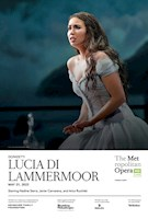 In recent seasons, soprano Nadine Sierra has brought down the house at the Met with virtuosic vocalism and captivating stage presence as Gilda in Rigoletto, Susanna in Le Nozze di Figaro, and Ilia in Idomeneo. Now, she takes on one of the repertory's most formidable and storied roles, the haunted heroine of Lucia di Lammermoor, in an electrifying new staging by in-demand Australian theater and film director Simon Stone, conducted by Riccardo Frizza. Show-stopping tenor Javier Camarena adds to the bel canto fireworks as Lucia's beloved, Edgardo, with baritone Artur Ruciński as her overbearing brother, Enrico, and bass Matthew Rose as her tutor, Raimondo.