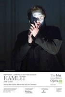 """When Australian composer Brett Dean's Hamlet had its world premiere at the Glyndebourne Festival in 2017, The Guardian declared, """"New opera doesn't often get to sound this good … Shakespeare offers a gauntlet to composers that shouldn't always be picked up, but Dean's Hamlet rises to the challenge."""" Now, this riveting contemporary masterpiece arrives at the Met, with Neil Armfield, who directed the work's premiere, bringing his acclaimed staging to New York. Many of the original cast members have followed, including tenor Allan Clayton in the title role. Nicholas Carter makes his Met debut conducting a remarkable ensemble, which also features soprano Brenda Rae as Ophelia, mezzo-soprano Sarah Connolly as Gertrude, baritone Rod Gilfry as Claudius, and legendary bass John Tomlinson as the ghost of Hamlet's father."""