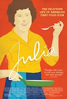 JULIA tells the story of the legendary cookbook author and television superstar who changed the way Americans think about food, television, and even about women. Using never-before-seen archival footage, personal photos, first-person narratives, and cutting-edge, mouth-watering food cinematography, the film traces Julia Child's surprising path, from her struggles to create and publish the revolutionary Mastering the Art of French Cooking (1961) which has sold more than 2.5 million copies to date, to her empowering story of a woman who found fame in her 50s, and her calling as an unlikely television sensation.