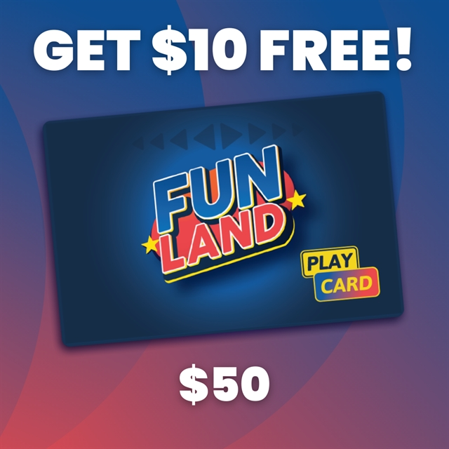 $50 Play Card +$10 BONUS