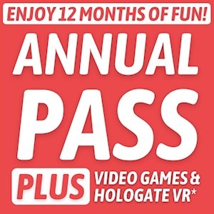 Annual Pass PLUS - Now Including Hologate VR!*