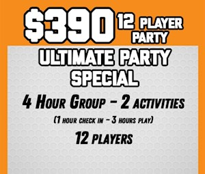 4 Hour Ultimate Party Package