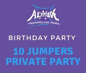 10 Birthday Private No Food