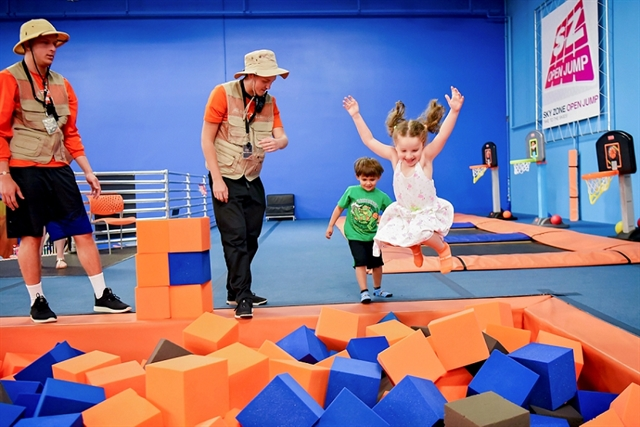 Sky Zone Sliders (Ages 4-7)