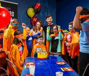Superhero Party (10 jumpers)